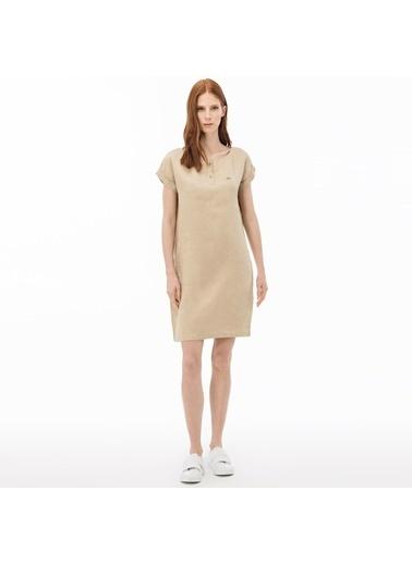 Lacoste Kadın  Elbise EF0905.05K Kahve